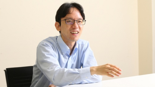 NTT東日本のビジネス開発本部特殊局員の登大遊氏