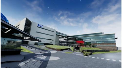 AGCの横浜テクニカルセンター新研究棟のVR