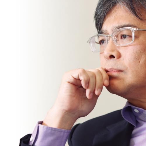 「きっと富士通だけの歴史を積み上げても、もしかしたらもう戦えない」と語る富士通の時田隆仁社長(写真:村田 和聡)