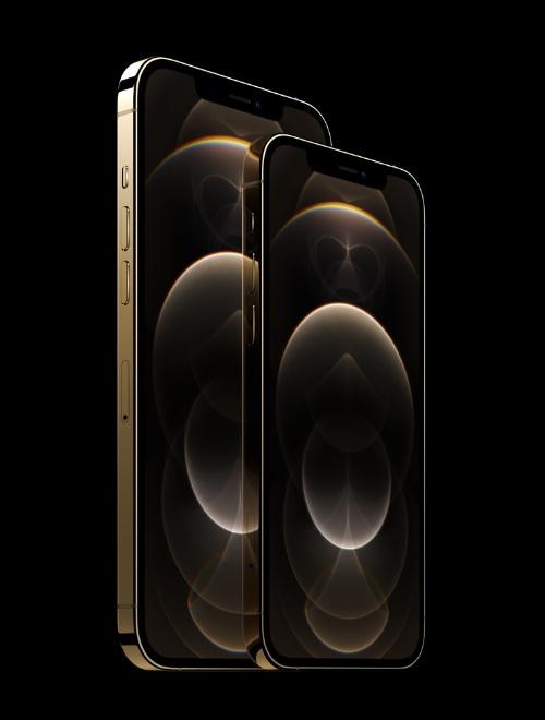 米AppleのiPhone 12 Pro MaxとiPhone 12 Pro