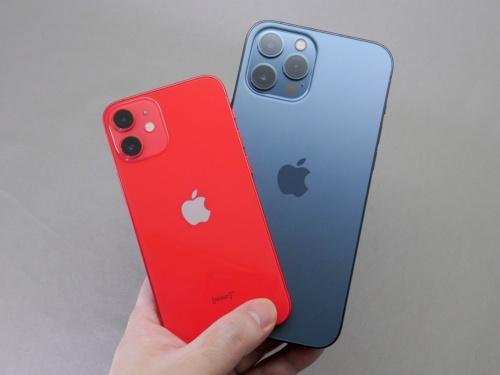 iPhone 12 miniとiPhone 12 Pro Max