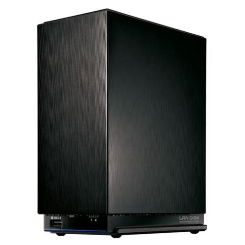 アイ・オー・データ機器の2.5GBASE-T対応高速NAS「HDL2-AAX6/E」。容量6Tバイトで実売価格は4万円弱