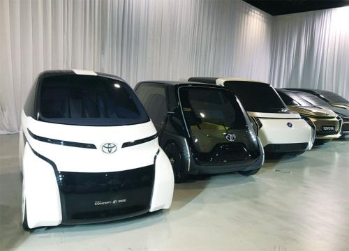 図15 トヨタの超小型EVのコンセプトモデル