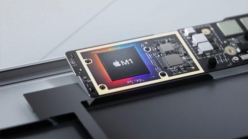 Apple Silicon版MacではSoC「M1」として統合された形で搭載される