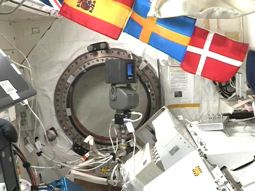 国際宇宙ステーション(ISS)日本実験棟「きぼう」内に設置した、avatarinの「space avatar」