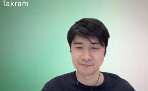 写真1 Takramの代表取締役・田川欣哉氏