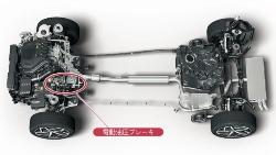 図3 新型ゴルフのガソリンエンジン仕様車の部品構成