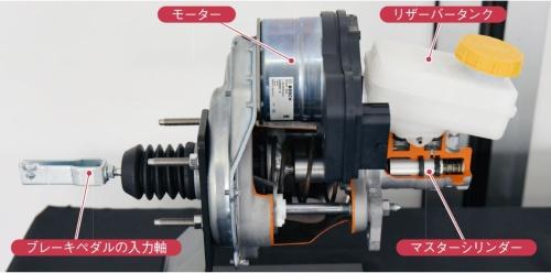 図2 ボッシュの電動油圧ブレーキ「iBooster2」