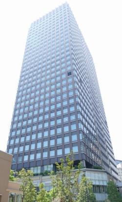 かんぽ生命保険のシステム部門やシステム子会社が入居するビル(東京・品川)