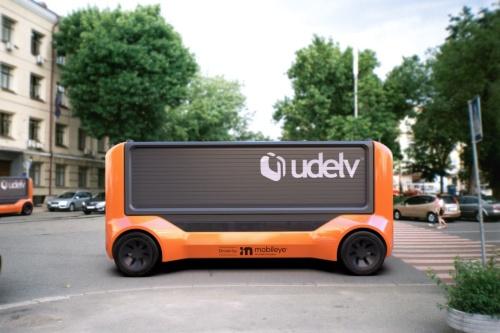 Udelvの自動配送EV「Transporters」のイメージ