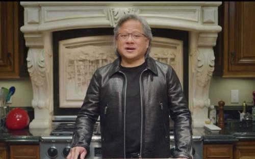 セキュリティー対策の重要性を説くNVIDIAのHuang氏