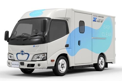 図1 日野の小型EVトラック「デュトロ Z(ズィー) EV」