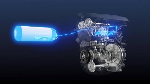 トヨタが開発中の水素エンジンのイメージ(出所:トヨタ)