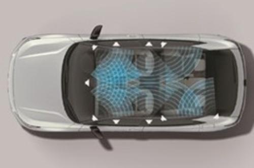 図2 ヴェゼルが搭載する音響システムのイメージ