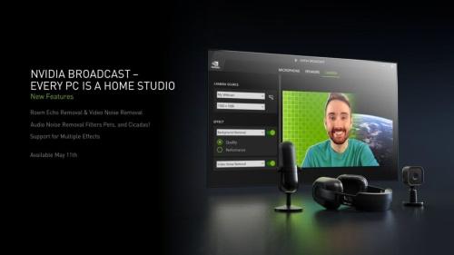 「NVIDIA Broadcast」の概要