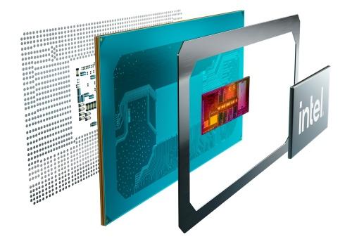 第11世代Intel Core Hシリーズプロセッサーのパッケージング構造