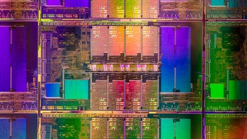第11世代Intel Core Hシリーズプロセッサーのダイ写真