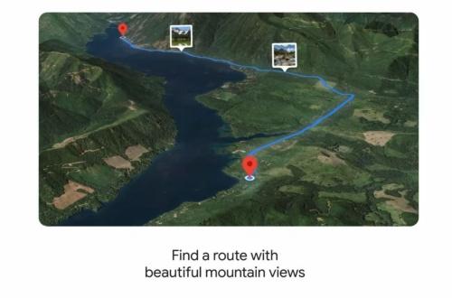 美しい山の景色が見られるドライブルートを探索