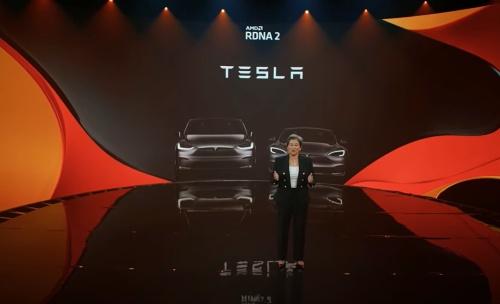 Teslaの電気自動車にAMD RDNA 2のGPUが採用された