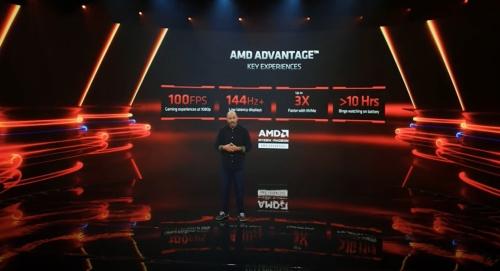 AMDが認定する高性能ゲーミングノートPCブランド「AMD Advantage」に求められる仕様の一部