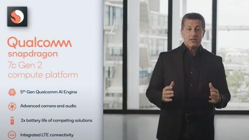 COMPUTEX TAIPEI 2021の講演で「Snapdragon 7c Gen2」を紹介