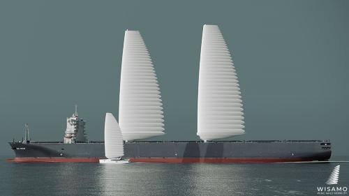 Michelinが開発した燃費を最大2割向上できる縦帆
