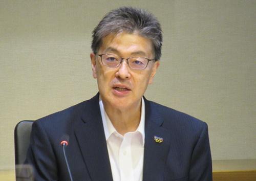 図 パナソニックの代表取締役社長に就任した執行役員CEOの楠見雄規氏