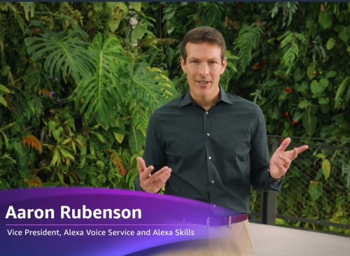 Amazon Alexa Voice Service and Alexa Skillsのアーロン・ルーベンソンVice President