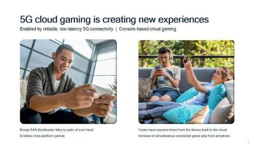 5Gミリ波はクラウドゲームなどの体験を劇的に改善する