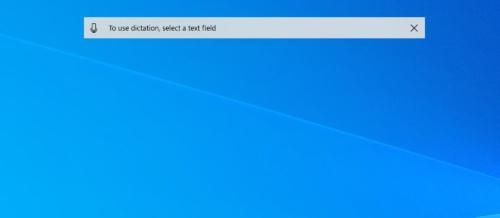 Windows 10には「ディクテーション」という音声入力機能もある。日本語の入力には利用できない