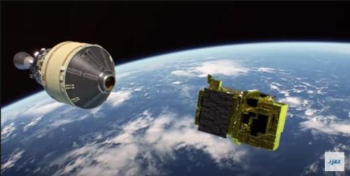 人工衛星の投入(出所:JAXA)