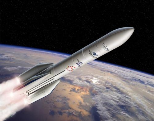 アリアン6ロケット(画像:Arianespace)