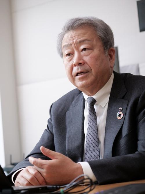 NTT社長の澤田純氏。IOWN構想の生みの親だ