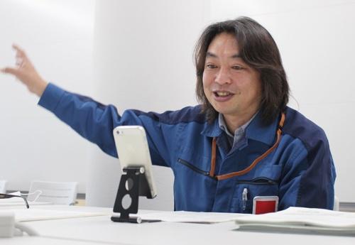 オンラインインタビューで語る東京電力の小林靖さん