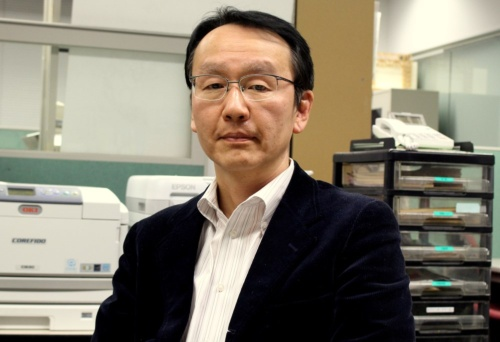 東京大学生産技術研究所の川口健一教授(写真:日経クロステック)