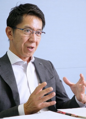 日本ユニシスの葛谷幸司取締役専務執行役員