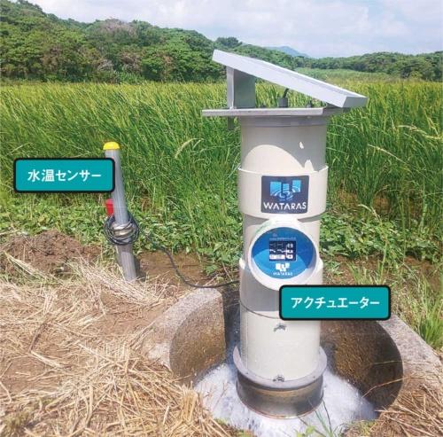 農場向けの水管理クラウドサービス「WATARAS」