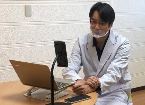 パソナグループ産業医の大日向玲紀氏。オンライン診療を担当する