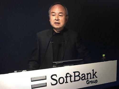 ソフトバンクグループが2021年5月12日に開いた決算説明会で登壇した孫正義会長兼社長