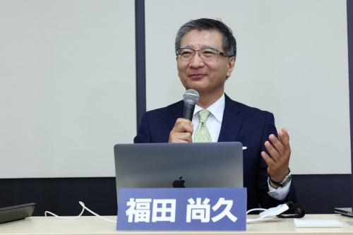 日本通信の福田尚久社長