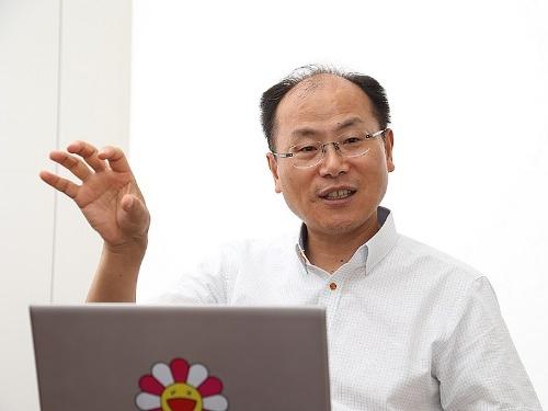 イーコーポレーションドットジェーピー代表取締役社長の廉宗淳(ヨム・ジョンスン)氏