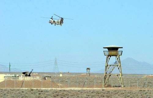 ナタンズの核開発施設は軍事要塞化されている(写真:ロイター/アフロ)