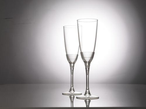 世界を驚かせたPLA製シャンパングラス