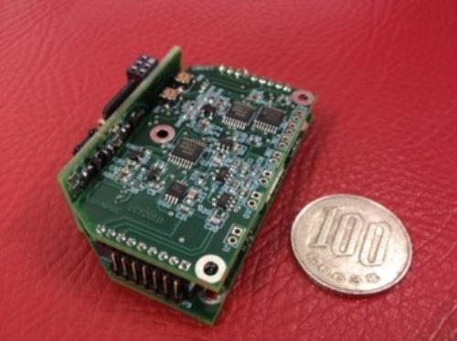 人工神経接続システムを構成する小型デバイスの一例
