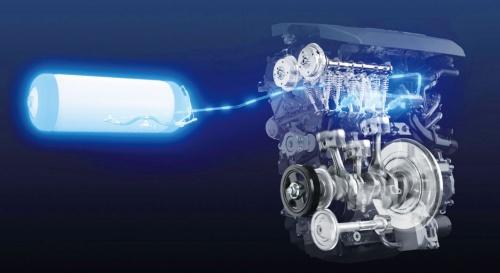 図2 トヨタが開発中の水素エンジンのイメージ