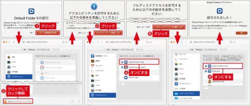 アプリの初回起動時、各種アクセス権の付与が必要になる場合に注意