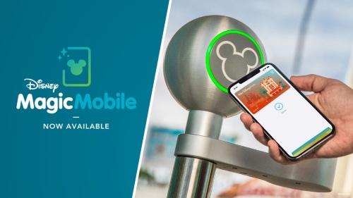 2021年3月にApple Pay対応が始まった「Disney MagicMobile」