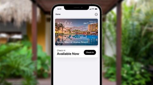 ホテルのルームキーもApple Pay(Wallet)の中に。チェックインまで含め、すべてデバイス上で完結する