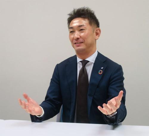 SGホールディングスの谷口友彦執行役員IT戦略担当