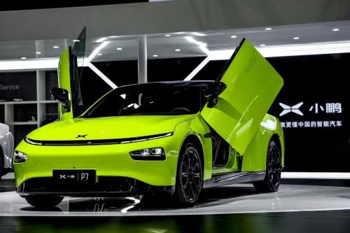 自動運転機能を備えるシャオペンモータース(小鵬汽車)のEV新車